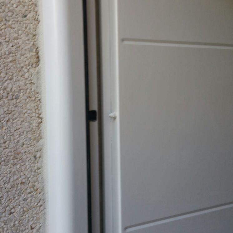 Colocación puerta blindada
