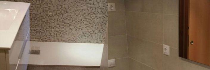 Colocación plato ducha en cuarto de baño en Reus - Reformas Reus
